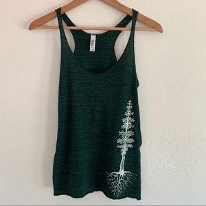 Bella graphic tank top sequoia roots